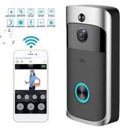 US WiFi Wireless Video Doorbell Two-Way Talk Smart PIR Door