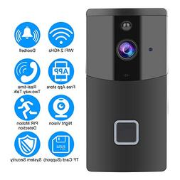 Acogedor Wireless WiFi Smart Video Doorbell,PIR 1280 720 H