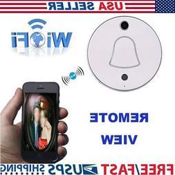 Wireless WiFi Video Camera Door Phone Doorbell Intercom Moni