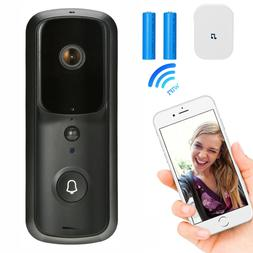 Wireless WiFi Video Doorbell Smart Door Ring Intercom Securi
