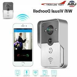 wireless wifi video doorbell smart door ring