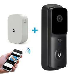 Wireless WiFi Video Doorbell Smart Door Ring Intercom Securi