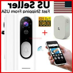 Two-Way Door Bell WiFi Wireless Video PIR Doorbell Talk Smar
