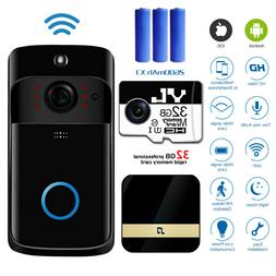 Wireless WiFi Video Doorbells Two-Way Smart Phone Door Ring