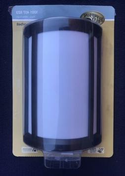 Hampton Bay Wireless Wired Door Bell Chime  Black White Half