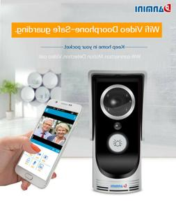 Wirless&Wired Ring Video Doorbell Motion WiFi 1080P HD Camer