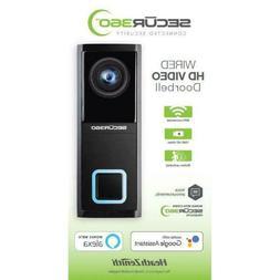 Heath Zenith SECUR360 Wired Video Doorbell SL-9600-00 Works
